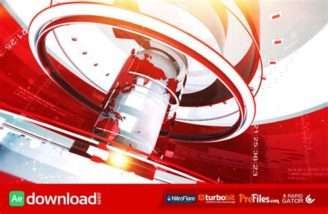 news templates after effects free download news package videohive template free download free