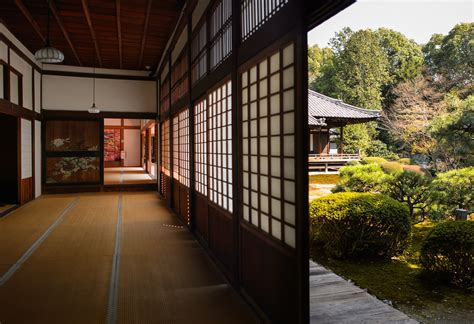 Japanese Temple Interior by Jeffrey Friedl S 187 Rich Wood Views Inside Kyoto S