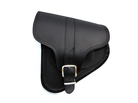 swing arm bags b4 leather swingarm single side pannier saddle bag