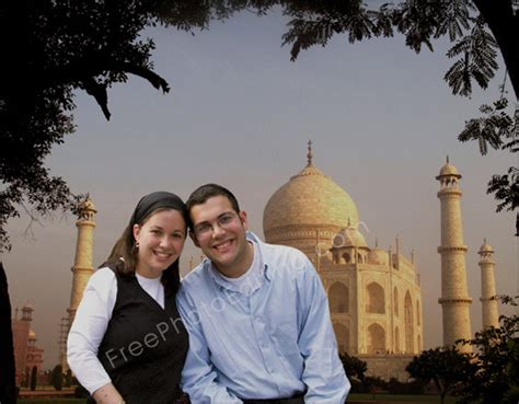 couple editing wallpaper photo editing change background to taj mahal india