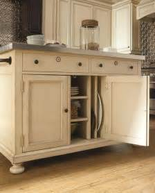 kitchen white kitchen island table with storage and