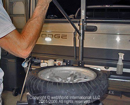 motorcycle tire changer webbikeworld