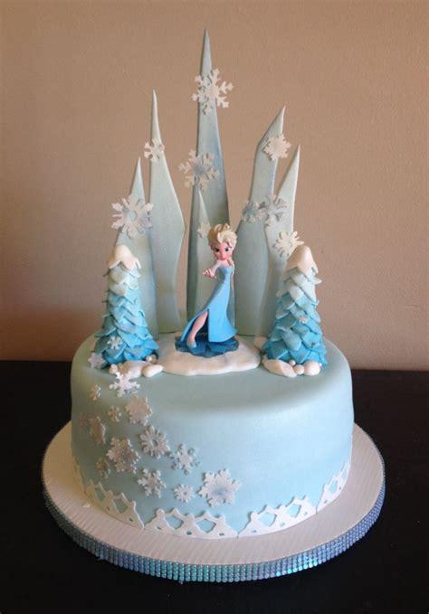 Frozen Cakes Decorations by Frozen Elsa Cake Cake Ideas Frozen Cakes