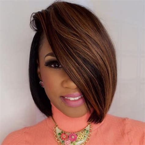 bob haistyles for black women colored with weave bob hairstyles with weave and color hairstyles