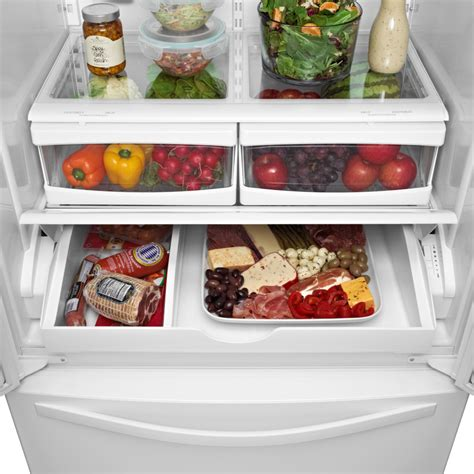 Pantry Temperature by Whirlpool Wrf532smbm 33 Inch Door Refrigerator With