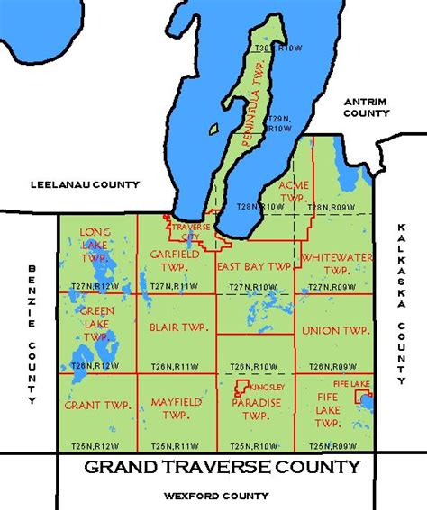 Grand Travers County Detox new page 11 www dnr state mi us