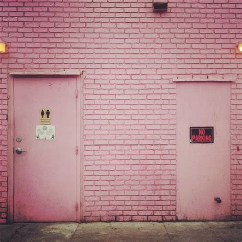 pink brick wall hula seventy pink walls and safety pins