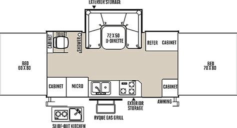 rockwood cer floor plans new rv floorplans vancouver rv center new and used rv