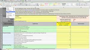 workload analysis template images