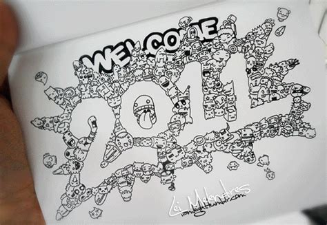 Doodle Welcome 2011 By Melendres On Deviantart