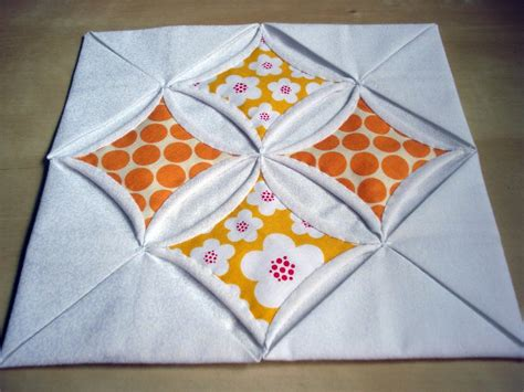 Cathedral Window Quilt Block Tutorial patchworkdelights cathedral windows tutorial