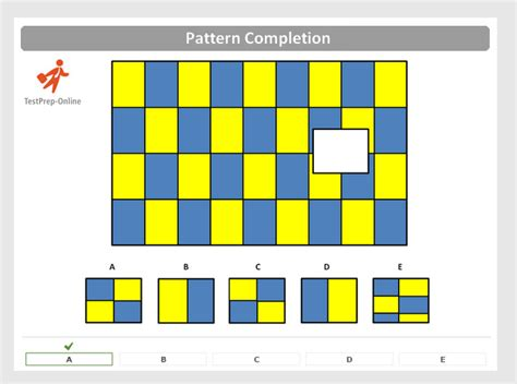 Pattern Completion Test | nnat pattern completion questions tips testprep online