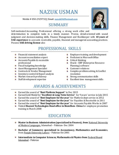 Sle Resume Accountant Uae Free Sle Architecture Resume Exle 100 Images Essays On Learning Disabilities Columbia