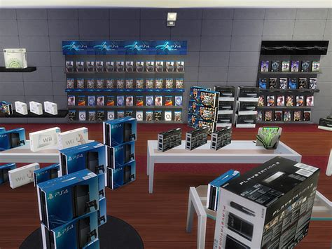 mod game store mod the sims videogames store ts2 to ts4 conversion