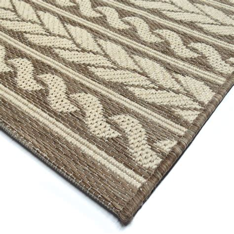 Large Indoor Outdoor Rugs Orian Rugs Indoor Outdoor Knit Cableknots Area Large Rug 3904 8x11 Orian Rugs