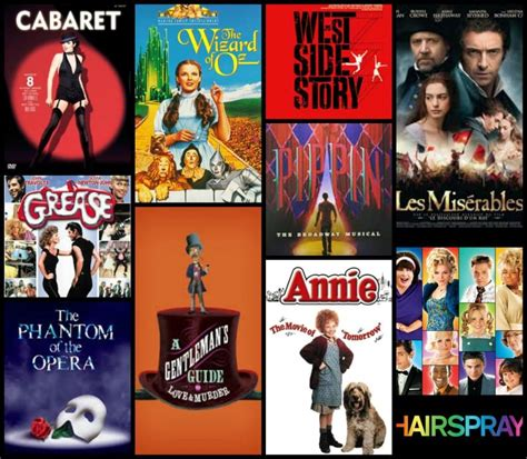 best musical top 10 musicals the lodi rage