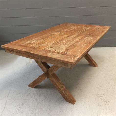 Crossed Leg Dining Table Cross Leg Dining Table Nadeau Nashville