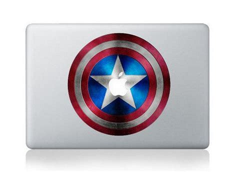Sticker Decal Apple Mini Air Captain America Rina Shop 62 best images about for my laptop on macbook
