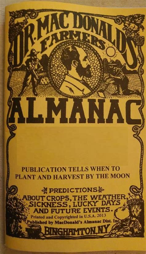 the almanac a seasonal guide to 2018 books dr macdonald s farmer s almanac for 2018