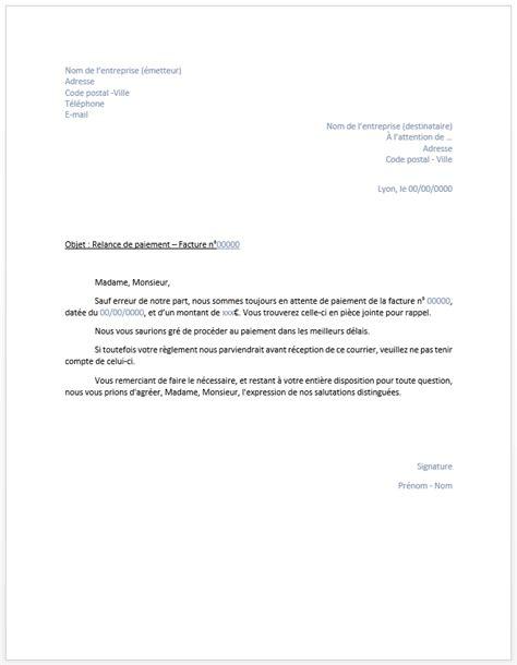 Exemple De Lettre De Reponse De Mise En Demeure Lettre Mise En Demeure Non Paiement Facture Document
