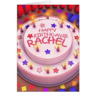 Happy Birthday Rachel Gifts on Zazzle