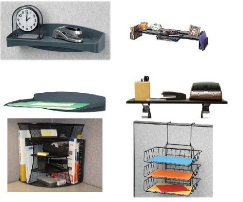 Office Cubicle Accessories Shelf by Maximize Cubicle Storage With A Variety Of Cubicle Shelves