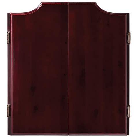 Viper Dartboard Cabinet by Viper Hudson Mahogany Finish Dartboard Cabinet 492903