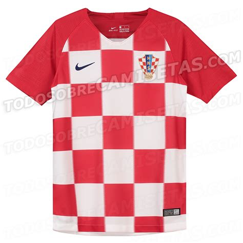 croatia 2018 world cup kits leaked todo sobre camisetas