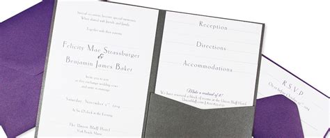 posh invitation template diy invitation pockets with enclosure cards lci paper