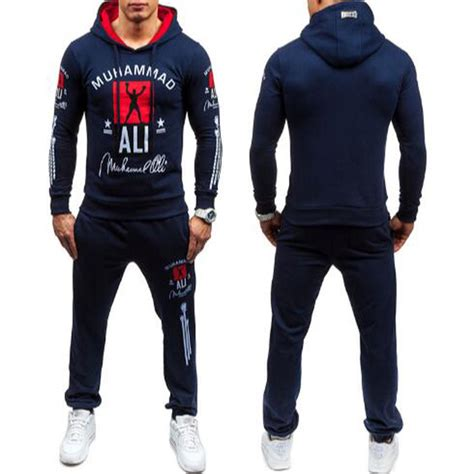 Hoodie Muhammad Ali Grey 01 Berkualitas 1 2017 fashion muhammad ali sweatshirt tracksuits