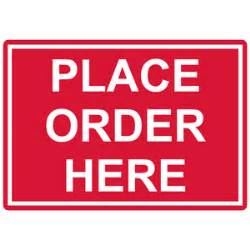 place order here engraved sign egre 15798 whtonred