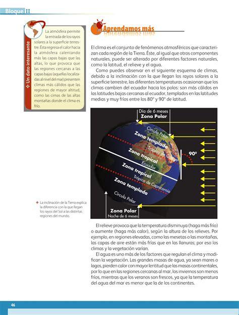 libro de la sep de geografia 2015 2016 de primaria libro de la sep de 6 grado geografia 2015 2016 geograf 237 a