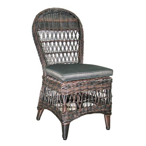 Black Wicker Dining Chair Wicker židle New Dining Chair Gramable Black Bronze Wicker židle New Dining Chair