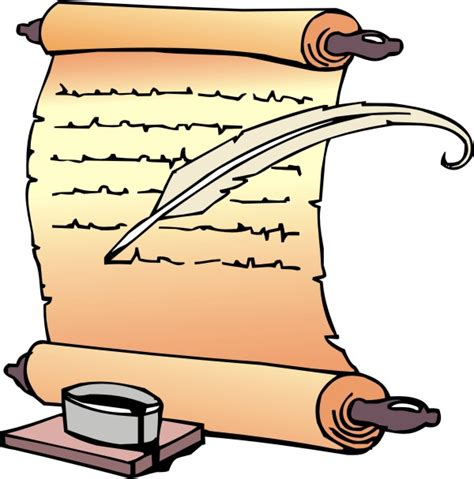 clip scroll scroll clip clipartion