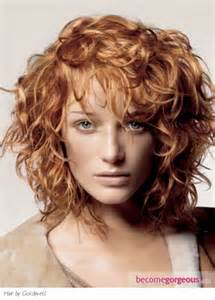 shoulder length layered curly haircuts with front and back pictures medium length layered curly hairstyles