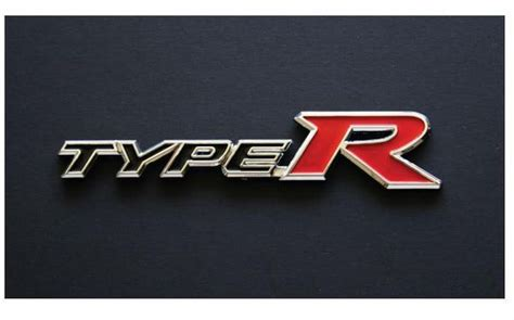Emblem Logo Type G Biru Original original honda civic fd2r type r wording logo emblem made