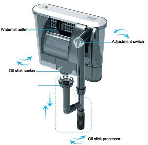 membuat filter aquarium dengan aerator fish turtle tank external waterfall filter air pump