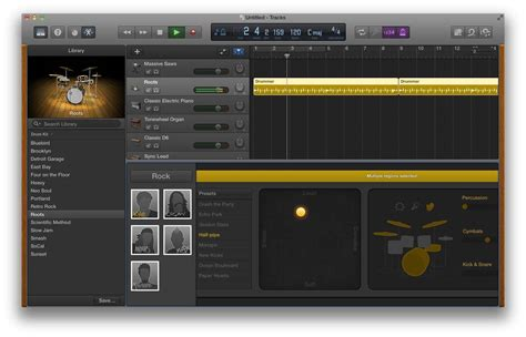 create drum pattern garageband rock harder with garageband on your mac cult of mac