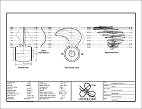 how to draw a boat propeller in solidworks propcad hydrocomp