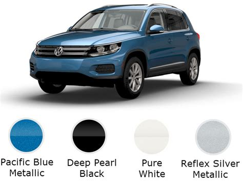2017 volkswagen tiguan trims and color options