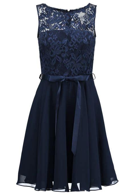 cocktailkleidfestliches kleid dunkelblau  zalandode