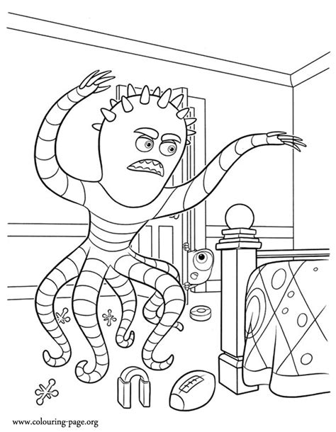 coloring pages of monster university scary monsters university coloring pages coloring pages