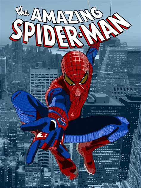 printable spiderman poster amazing spider man posters chris rhodes design