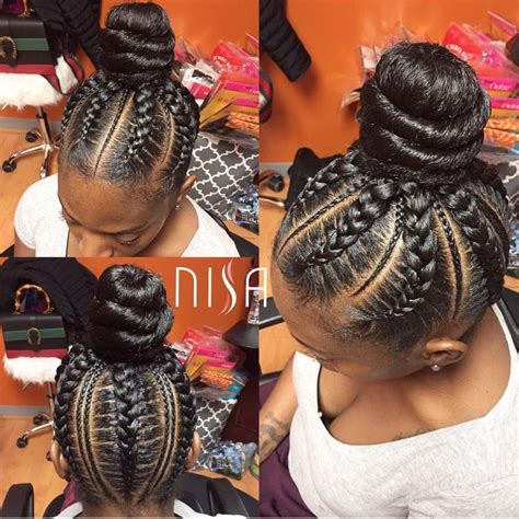 2 balls cornrows 35 absolutely beautiful feed in braid hairstyles