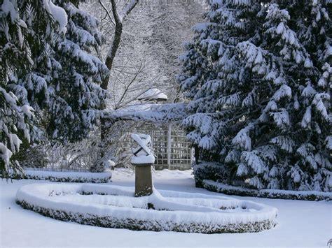 Garten Im Winter by Ferienwohnung Wald Blick Im Alten Forstamt Teutoburger