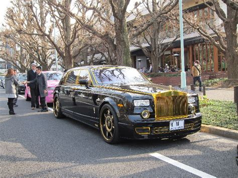 roll royce tuning tuned rolls royce phantom and dropheads meet car tuning