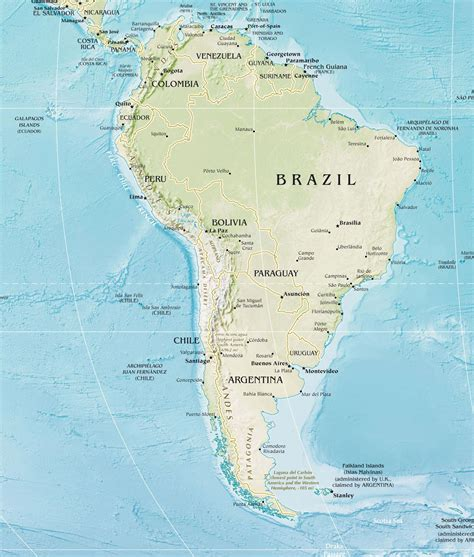 interactive map of south america physical features panama physical map map of panama road map of panama and