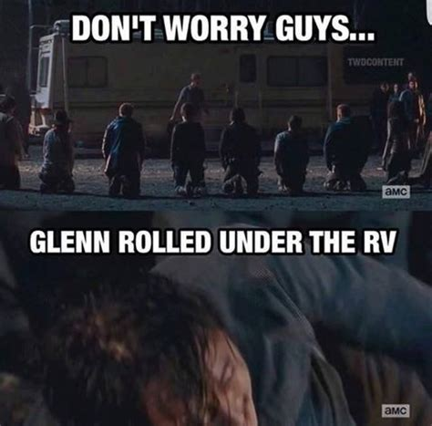 Glenn Walking Dead Meme - 1016 best images about walking dead humor zombies on