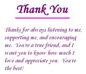 thank you for your support quotes sayings thank you
