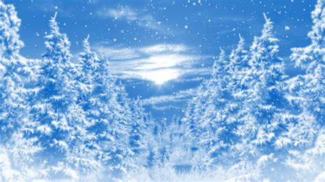 winter backgrounds winter background loop animation motion background